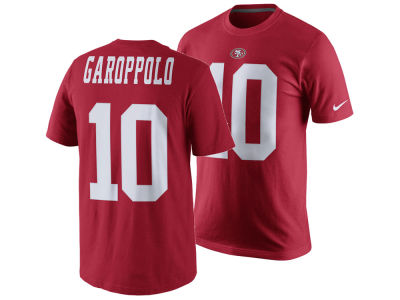 San Francisco 49ers Jimmy Garoppolo Nike NFL Men's Pride Name and Number T-Shirt