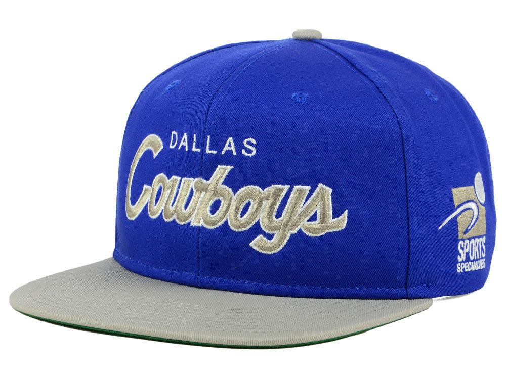 Dallas Cowboys Nike NFL Sports Specialty Snapback Cap  b858f9b517d