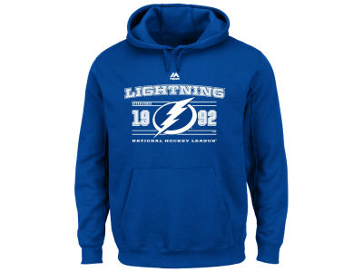 Tampa Bay Lightning Majestic NHL Men's Winning Boost Hoodie