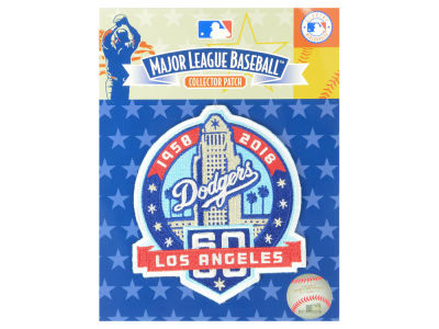 Los Angeles Dodgers MLB 60th Anniversary Patch