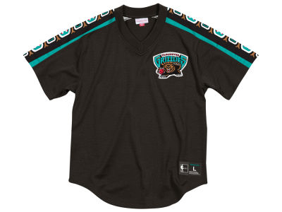 Vancouver Grizzlies Mitchell & Ness NBA Men's Winning Team Mesh V-Neck Jersey