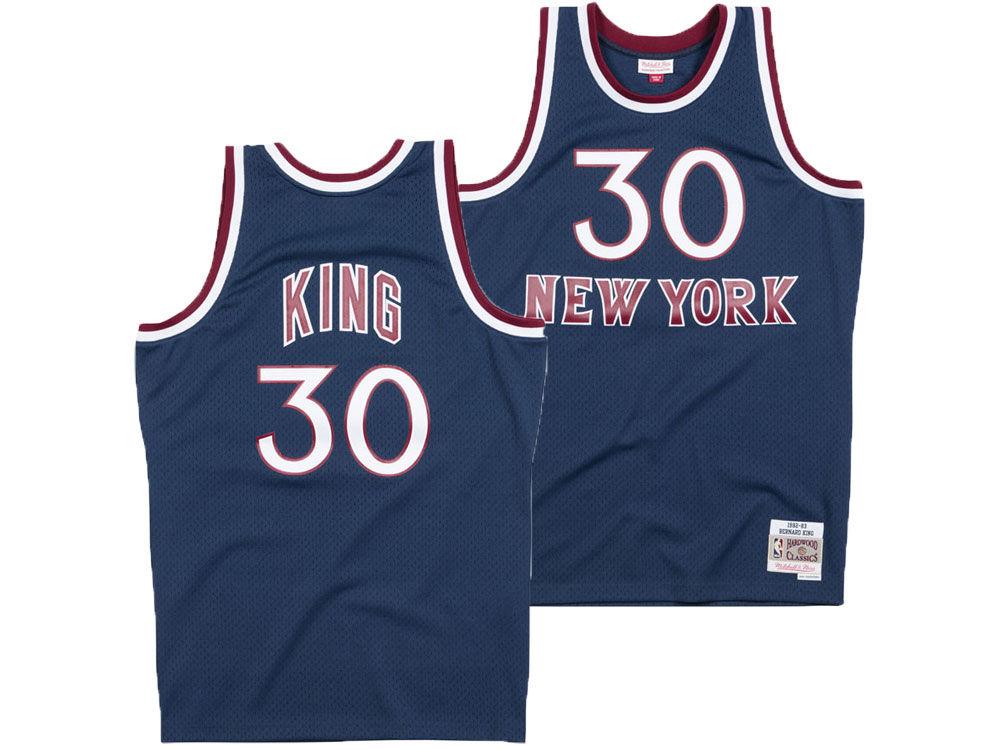 a29e0d217 New York Knicks Bernard King Mitchell   Ness NBA Men s Hardwood ...