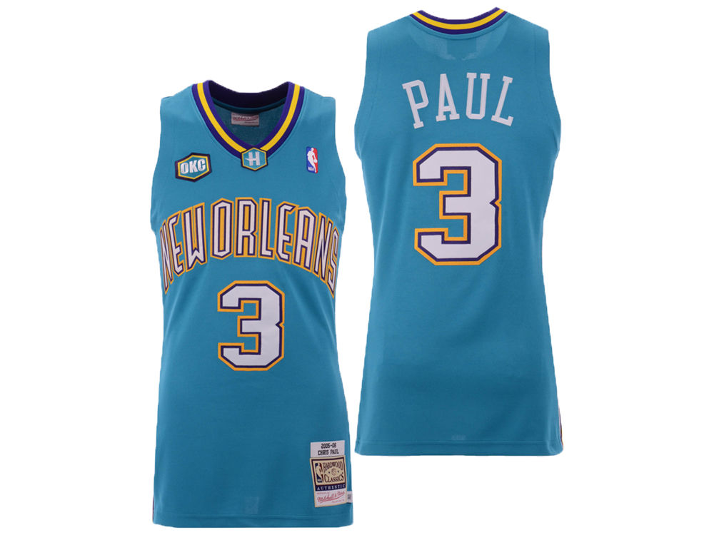 New Orleans Hornets Chris Paul Mitchell   Ness NBA Authentic Jersey ... added84c3