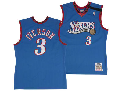 Philadelphia 76ers Allen Iverson Mitchell & Ness NBA Authentic Jersey