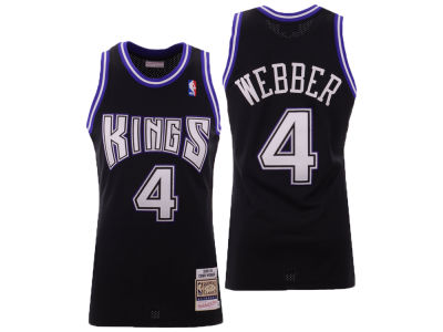 Sacramento Kings Chris Webber Mitchell & Ness NBA Authentic Jersey