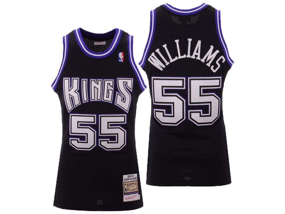 131e428283d Sacramento Kings Jason Williams Mitchell   Ness NBA Authentic Jersey ...