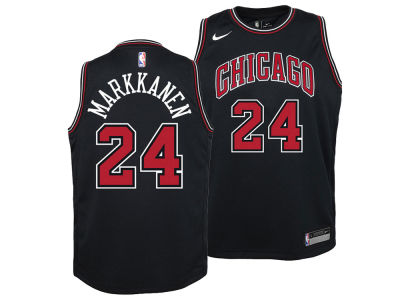 957b49083 Chicago Bulls Lauri Markkanen Nike NBA Youth Statement Swingman Jersey