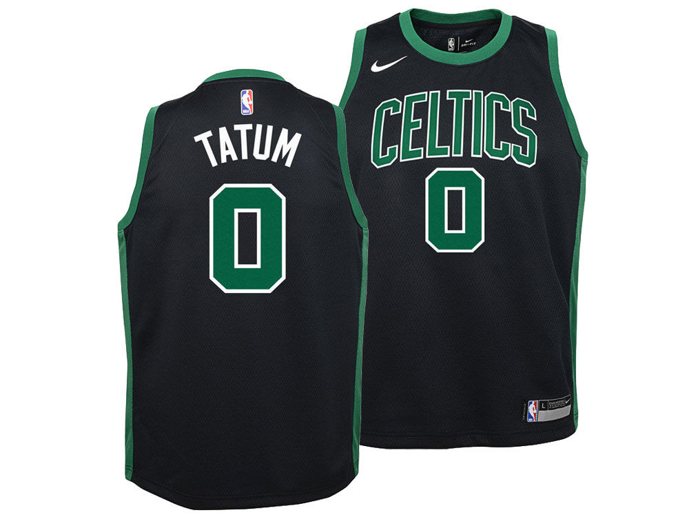 Boston Celtics Jayson Tatum Nike NBA Youth Statement Swingman Jersey ... 1fe87a7d2ec9