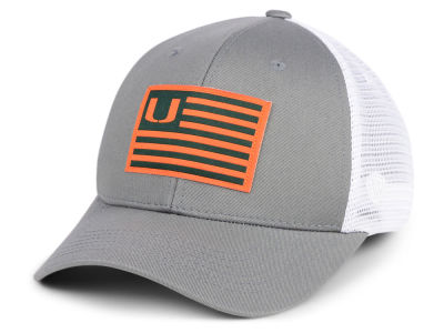 Miami Hurricanes Top of the World NCAA Brave Trucker Cap