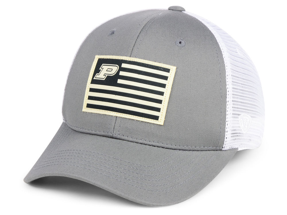Purdue Boilermakers Top of the World NCAA Brave Trucker Cap  bbe95f0a4d4