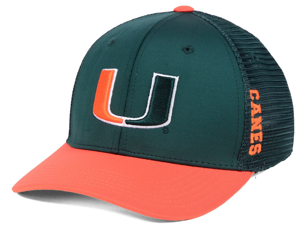 f66c08e1 ... discount code for miami hurricanes top of the world ncaa chatter flex  cap 95ddb f1f6a