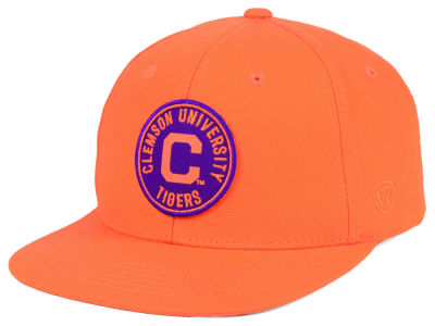 Clemson Tigers Top of the World NCAA Timey Snapback Cap