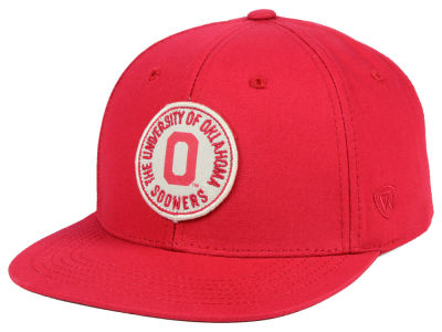 Oklahoma Sooners Top of the World NCAA Timey Snapback Cap