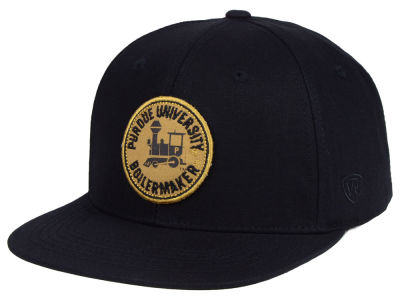 Purdue Boilermakers Top of the World NCAA Timey Snapback Cap