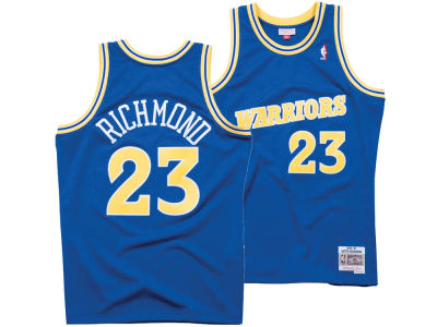 Golden State Warriors Mitch Richmond Mitchell & Ness NBA Men's Hardwood Classic Swingman Jersey