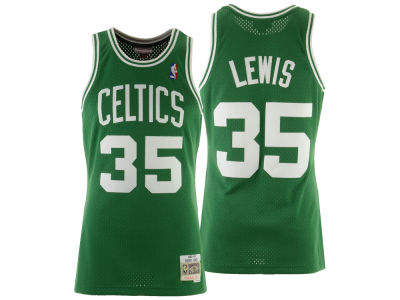 Boston Celtics Reggie Lewis Mitchell & Ness NBA Men's Hardwood Classic Swingman Jersey