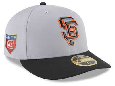 San Francisco Giants New Era 2018 MLB Spring Training Prolight Low Profile 59FIFTY Cap