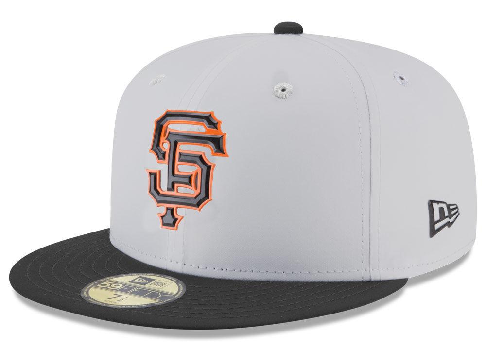 San Francisco Giants New Era MLB Batting Practice Prolight 59FIFTY Cap  6da93aa6d87
