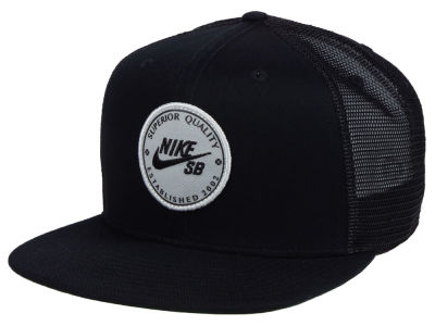 0e7b2c36140 Nike SB Patch Trucker Cap