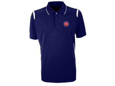 Detroit Pistons Antigua NBA Men's Merit Polo
