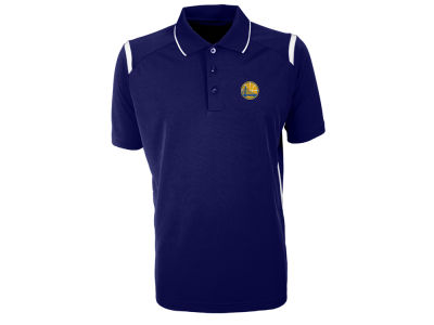 Golden State Warriors Antigua NBA Men's Merit Polo