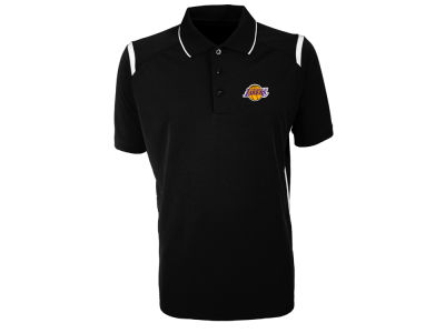 Los Angeles Lakers Antigua NBA Men's Merit Polo