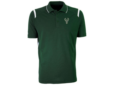 Milwaukee Bucks Antigua NBA Men's Merit Polo