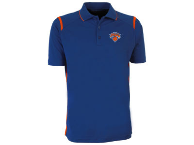 New York Knicks Antigua NBA Men's Merit Polo