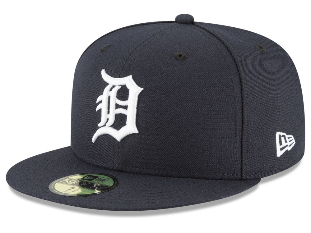 Detroit Tigers New Era MLB Authentic Collection 59FIFTY Cap  b4fc6fdf837