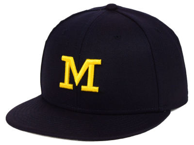 Michigan Wolverines Jordan NCAA True Wool Fitted Cap