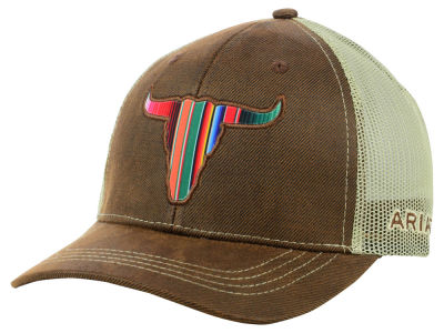 Ariat Serape Steer Trucker Cap