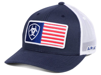 Ariat Flag Trucker Cap