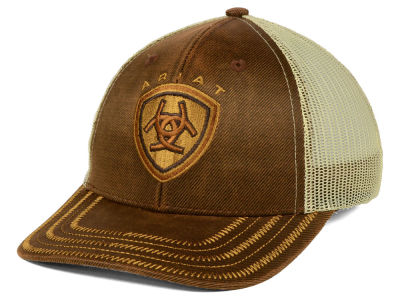 Ariat Youth Oilskin Trucker Cap