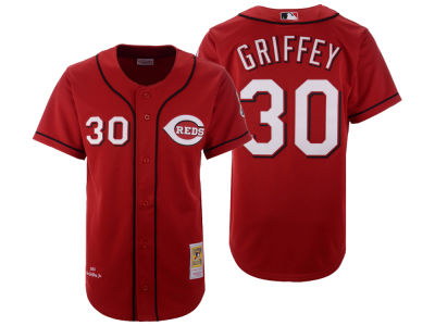 Cincinnati Reds Ken Griffey Mitchell & Ness MLB Men's Authentic Jersey