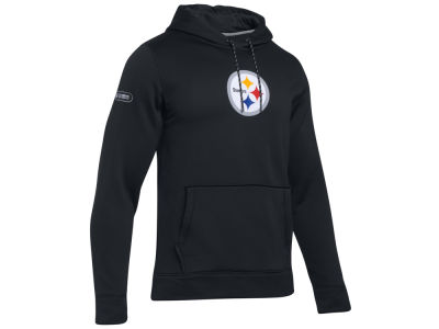 Pittsburgh Steelers Under Armour NFL Men's Primary Logo Armour Hoodie