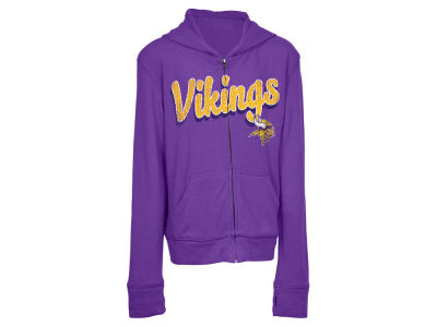 Minnesota Vikings 5th & Ocean NFL Youth Girls Sweater Hoodie