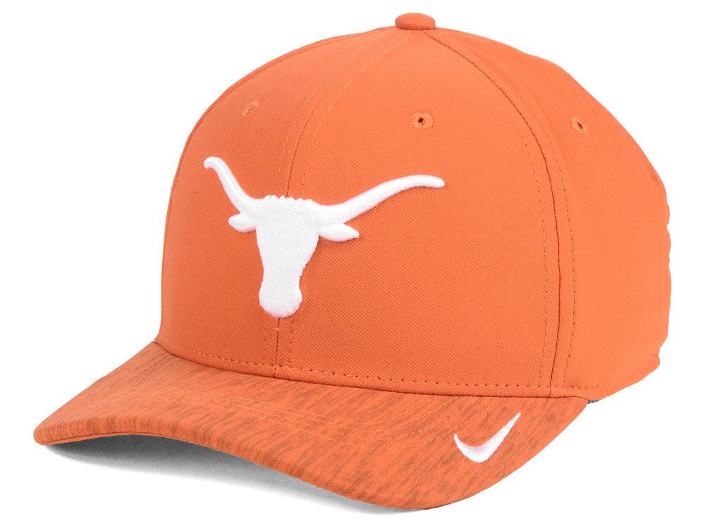 5358cb4090c new zealand texas longhorns nike ncaa sideline true adjustable cap ...