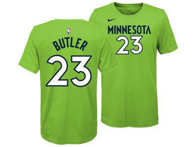 Minnesota Timberwolves Jimmy Butler Nike NBA Youth Statement Name and Number T-shirt