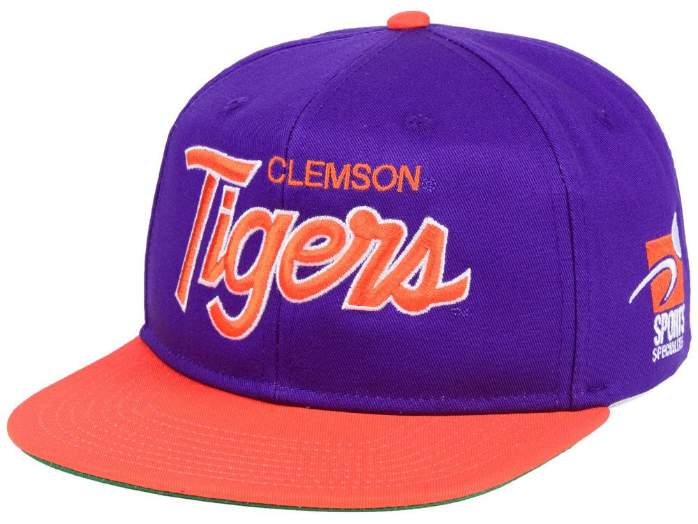 Clemson Tigers Nike NCAA Sport Specialties Snapback Cap  328d7baea7a2
