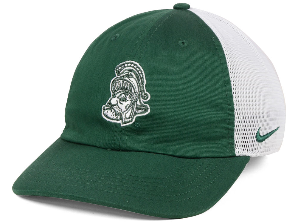 sale retailer a099c 8d2b0 ... uk michigan state spartans nike h86 trucker cap f62fc b246d