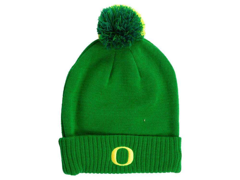 Oregon Ducks Nike NCAA Beanie Sideline Pom  2185da3ec68