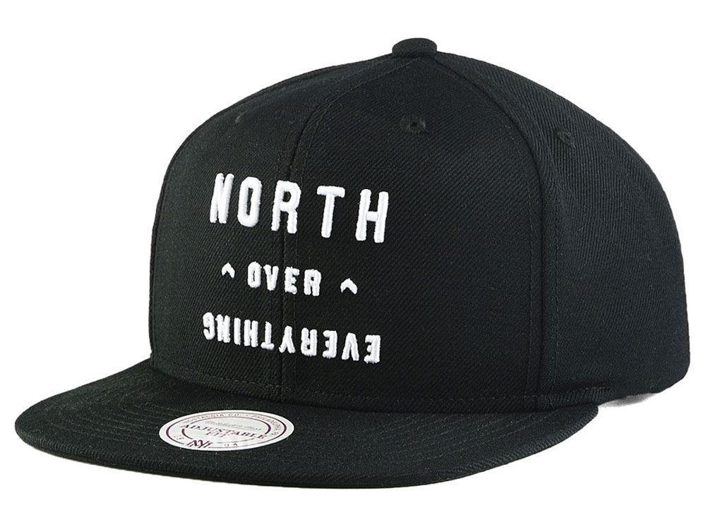 4ccfea6439 Toronto Raptors Mitchell   Ness NBA North Over Everything Snapback Cap