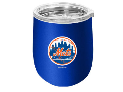 New York Mets Stainless Steel Stemless Wine Glass