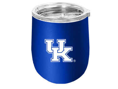 Kentucky Wildcats Stainless Steel Stemless Wine Glass