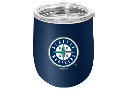 Seattle Mariners Stainless Steel Stemless Wine Glass