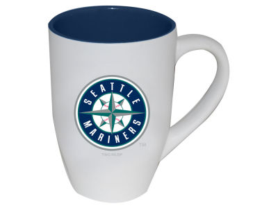 Seattle Mariners Two Tone White Matte Mug
