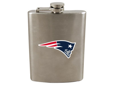 New England Patriots 8oz Stainless Steel Flask
