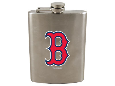 Boston Red Sox 8oz Stainless Steel Flask