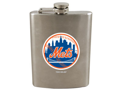 New York Mets 8oz Stainless Steel Flask