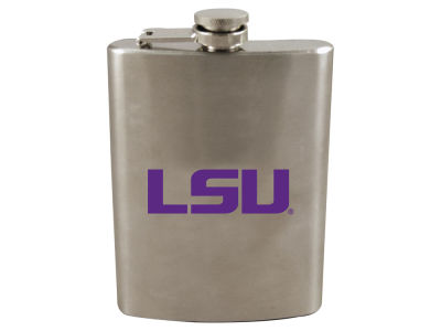 LSU Tigers 8oz Stainless Steel Flask